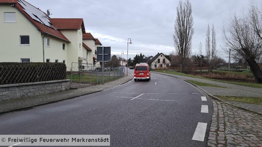 Verunreinigte Straße